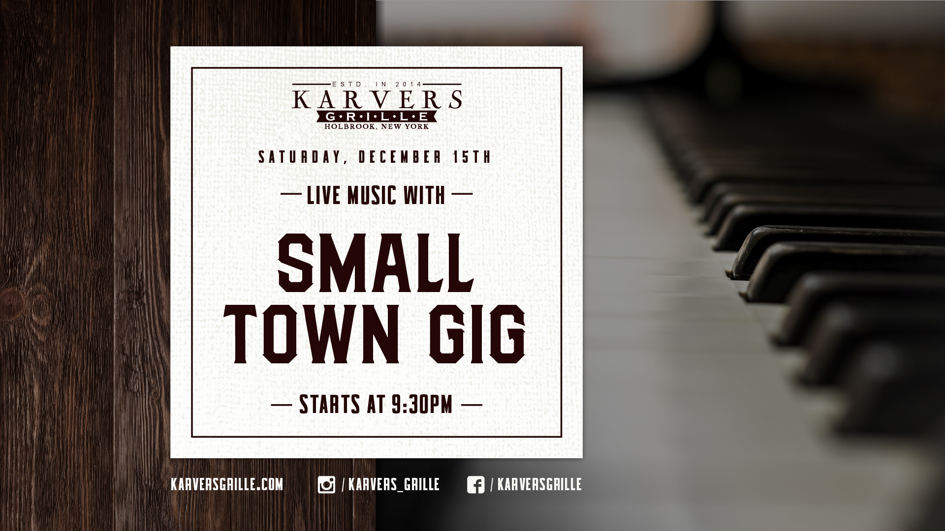 Small Town Gig